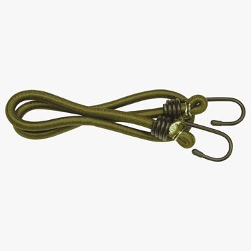 Picture of Bungees 75cm x 8mm Olive Green ( Pack of 2)