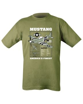Picture of Mustang T-Shirt Olive Green