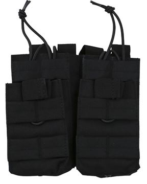 Picture of Double Duo Magazine Pouches Black